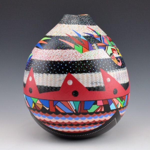 Les Namingha Hopi bird tall jar3a