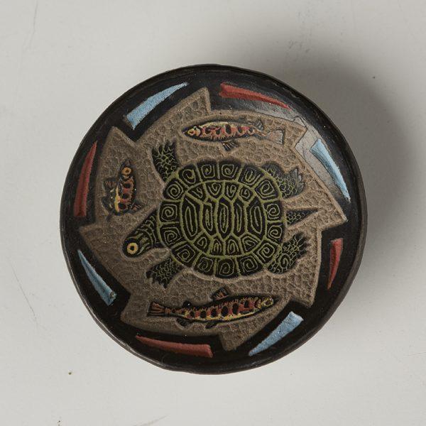 Jennifer Tafoya 8 turtle plate 100