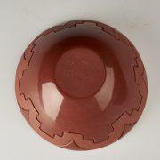Linda Tafoya Sanchez 12 b red bowl 100