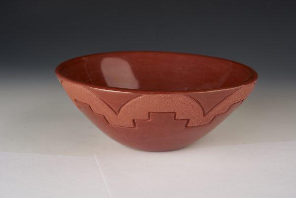 Linda Tafoya Sanchez 12 a red bowl 100